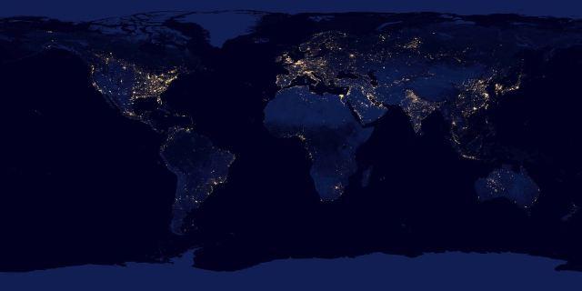 صور-الأرض-والأضواء-من-الفضاء1