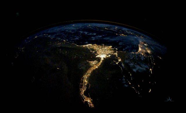 صورة-مصر والنيلمن-الفضاء
