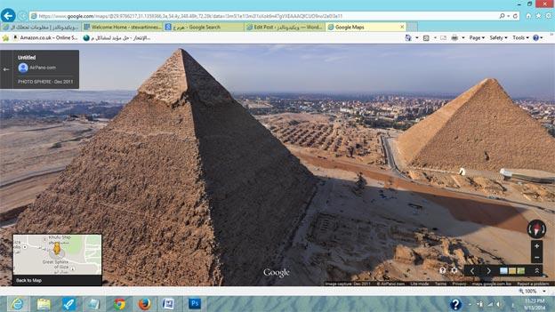 اهرام مصر الجيزة - الاهرامات الثلاثة بالجيزة