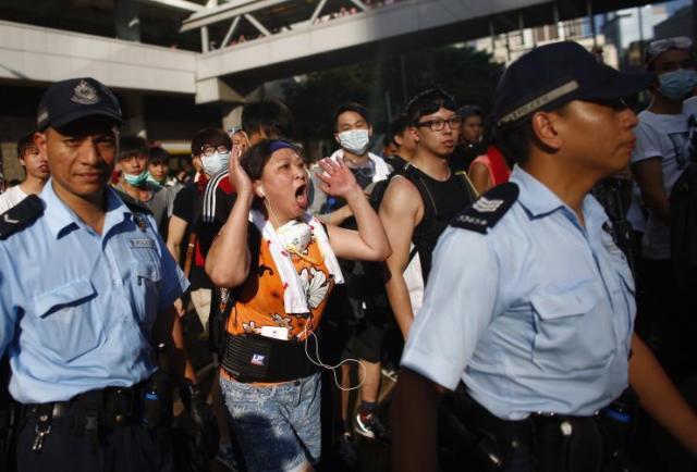 الفساد- في هونغ كونغ -