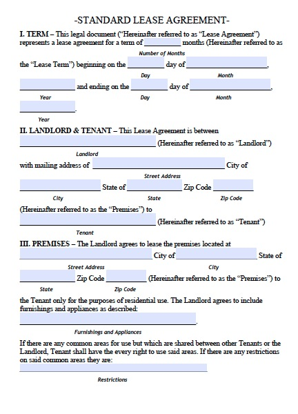 Download Arkansas Rental Lease Agreement Forms and Templates ...
