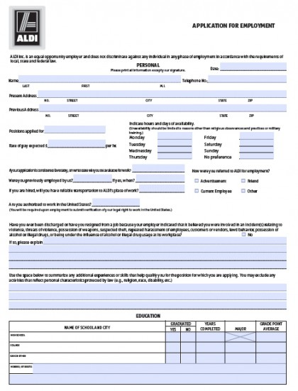 Grocery Store Applications Online