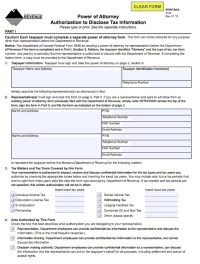 Download Montana Power of Attorney Forms and Templates ...