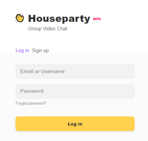 Houseparty for PC