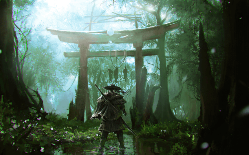 Ghost of Tsushima Wallpapers for Laptop