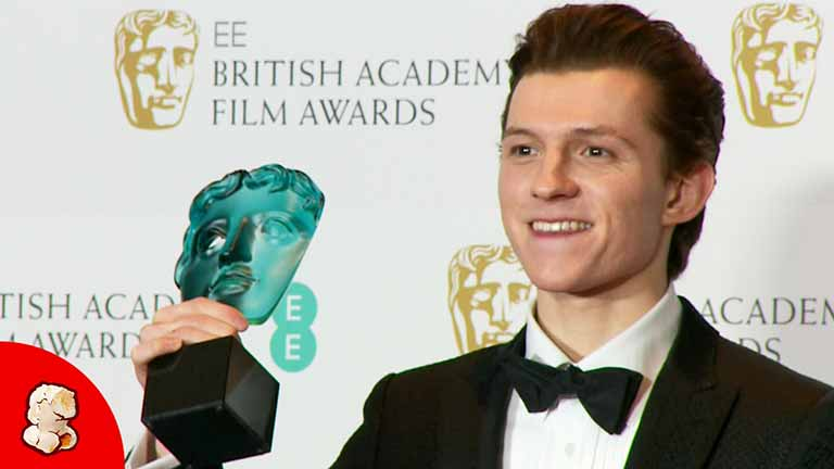 Tom Holland Won BAFTA Award