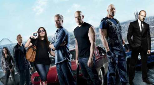 Movie-Fast And Furious