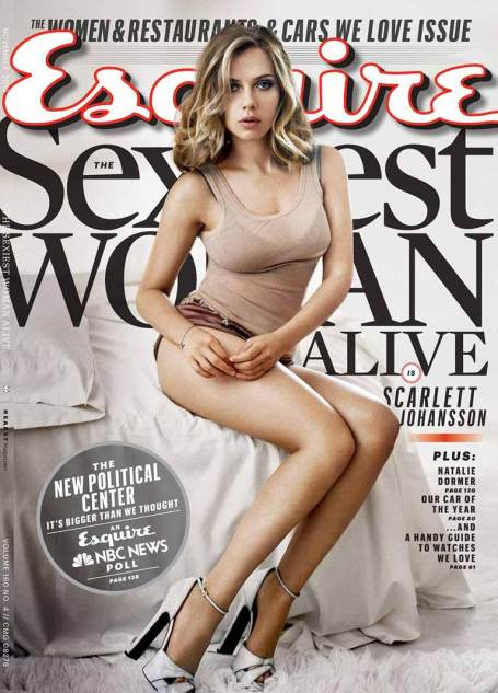 Sexiest Woman Alive: Esquire