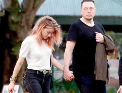 Amber with Elon Musk