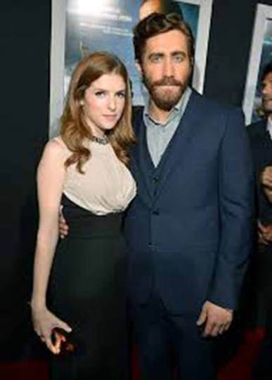 Anna with Jake Gyllenhaal
