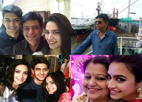 Kriti kharbanda family