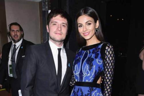 Victoria with Josh Hutcherson