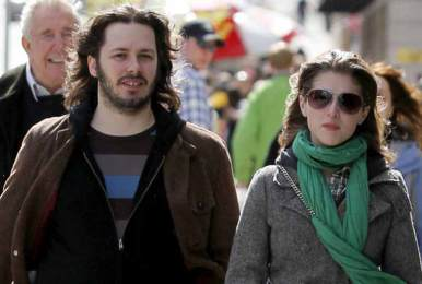 Anna with Edgar Wright