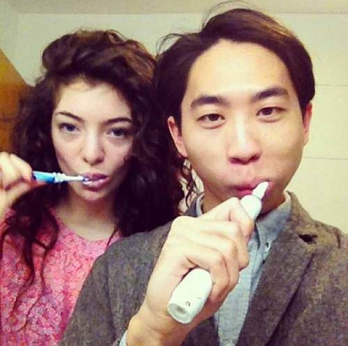 Lorde with James Lowe