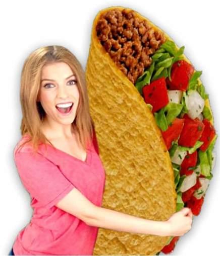 Anna loves Taco