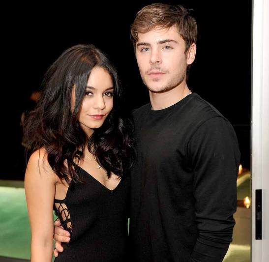 Vanessa with Zac Efron