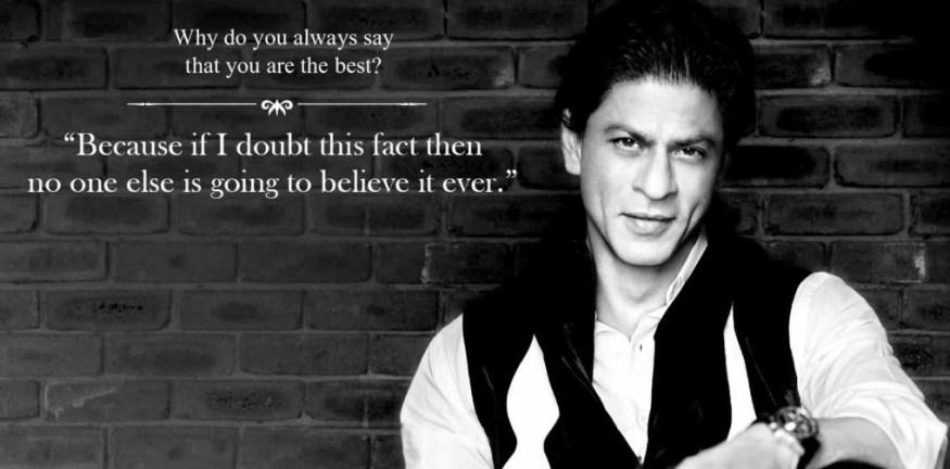 Shahrukh Khan's Sarcasm
