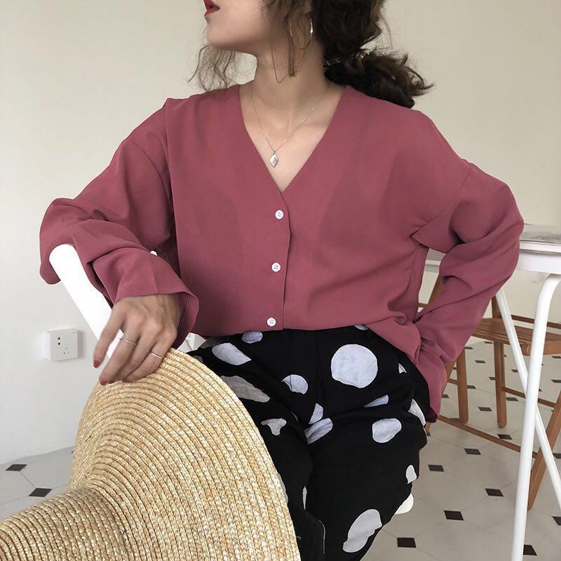 Button-down Shirt or Blouse riva fashion