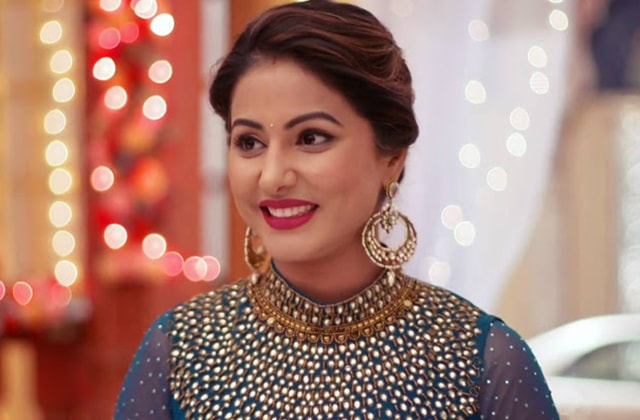 Hina Khan Traditional