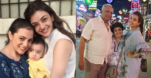 Kajal Agarwal Family Photo