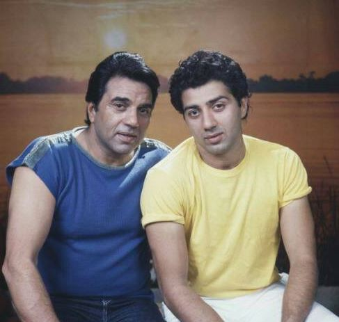 Dharmendra and Sunny