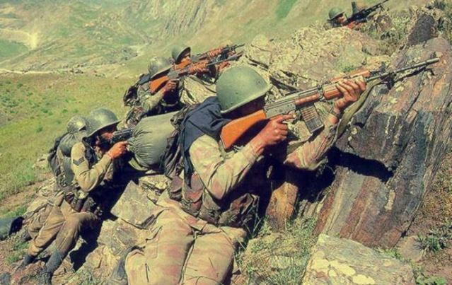 Indian Army during war