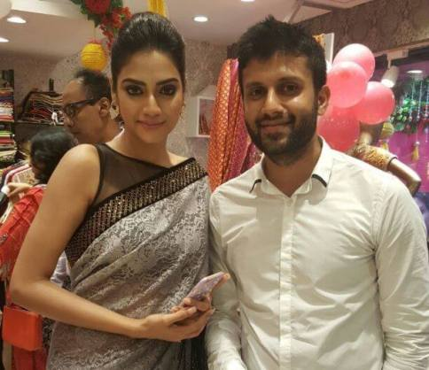 Nikhil Jain and Nusrat Jahan