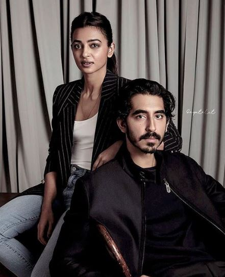 Dev Patel and Radhika Apte
