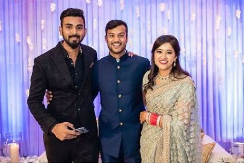 Mayank Agarwal and KL Rahul