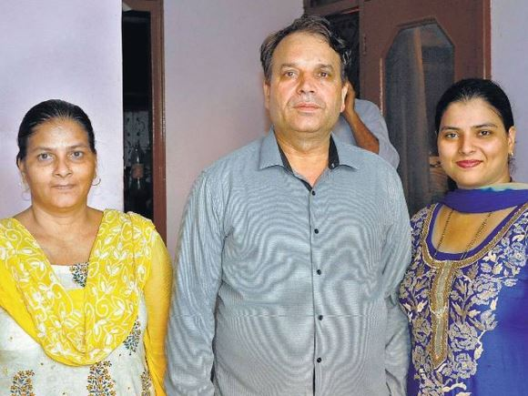 family of Sumit Nagal
