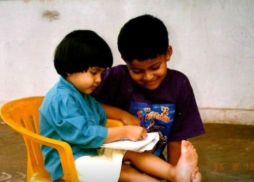 Varun Childhood Photo