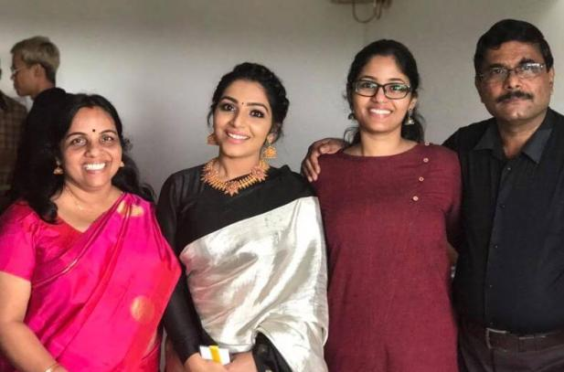 Rajisha Vijayan sister and family