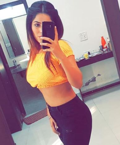 Shehnaaz Gill hot figure