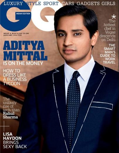 Aditya Mittal on Magazine