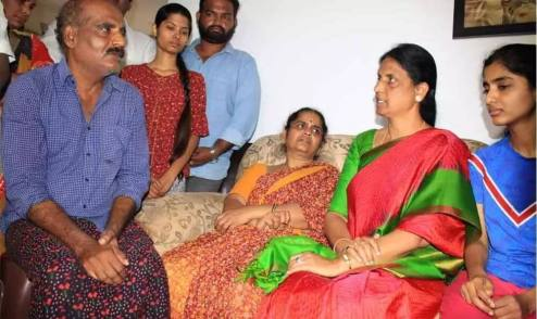 Priyanka Reddy family