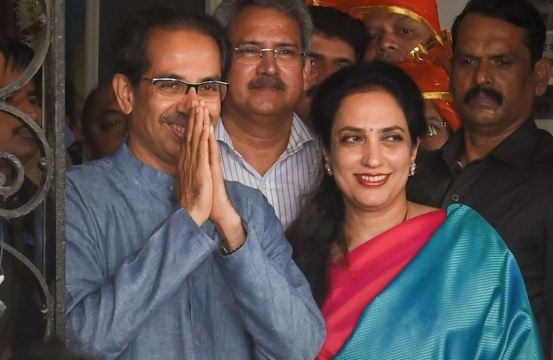 Uddhav Thackeray wife