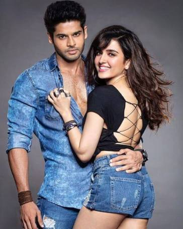 Abhimanyu Dassani and Shirley Setia