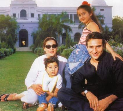 Ibrahim Ali Khan parents
