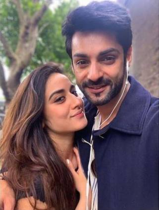 Karan Wahi girlfriend Uditi Singh