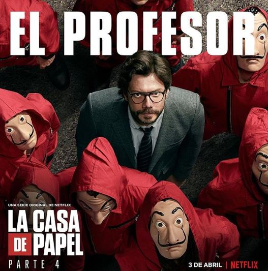 Professor in Money Heist
