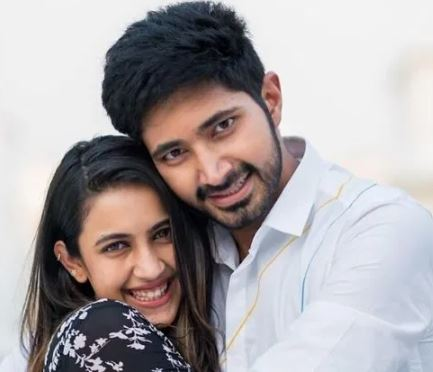 Niharika with husband