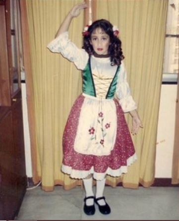 A schooltime photo of Shreya
