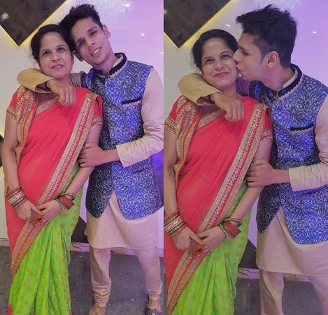 Aman with mother