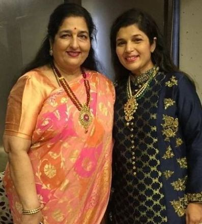 Aditya's mother with sister