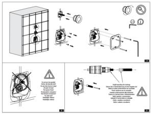Contemporary Design In-Wall Shower Valve Mixer 2-way