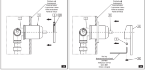 Lenox Grohe 19956ZB0 Agira Pressure Balanced Valve Trim