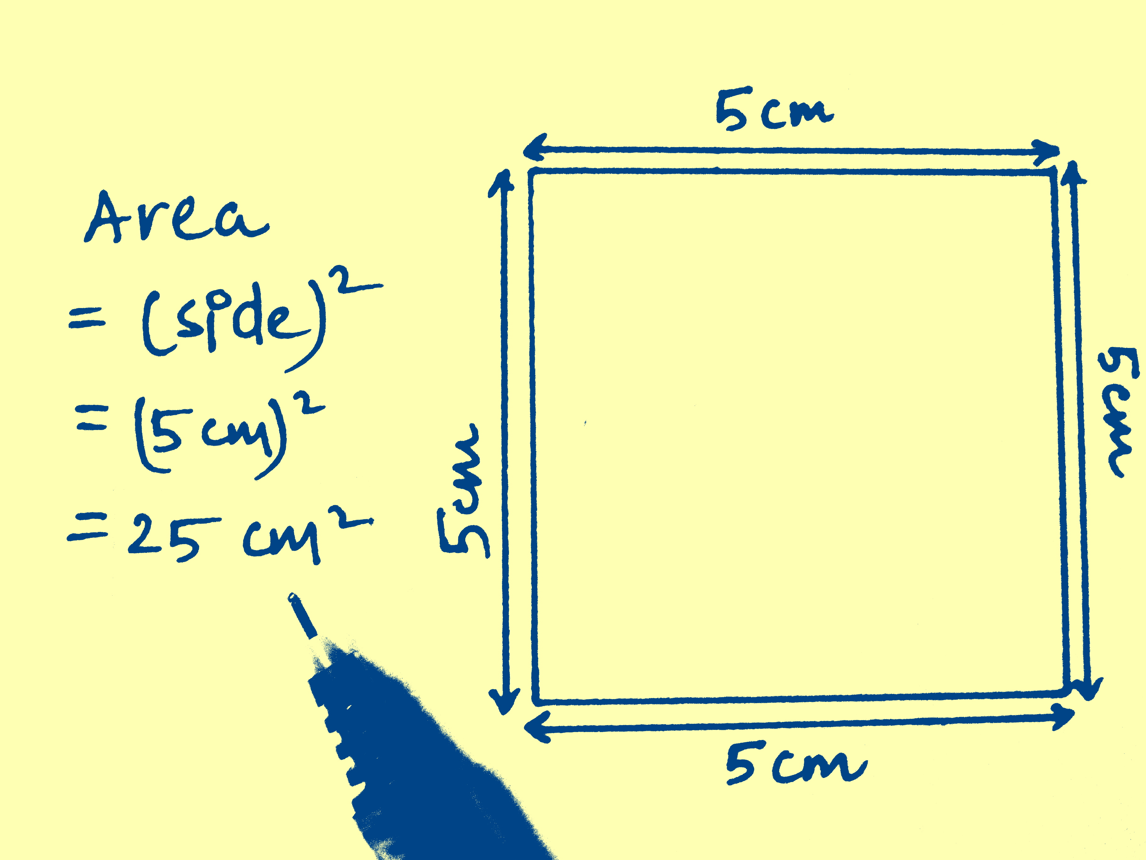 3 Modi Per Calcolare L'area Di Un Quadrato  Wikihow