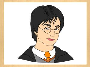 potter harry draw drawing cartoon step face drawings characters easy simple generator wikihow tutorials steps coloring pages getdrawings paintingvalley