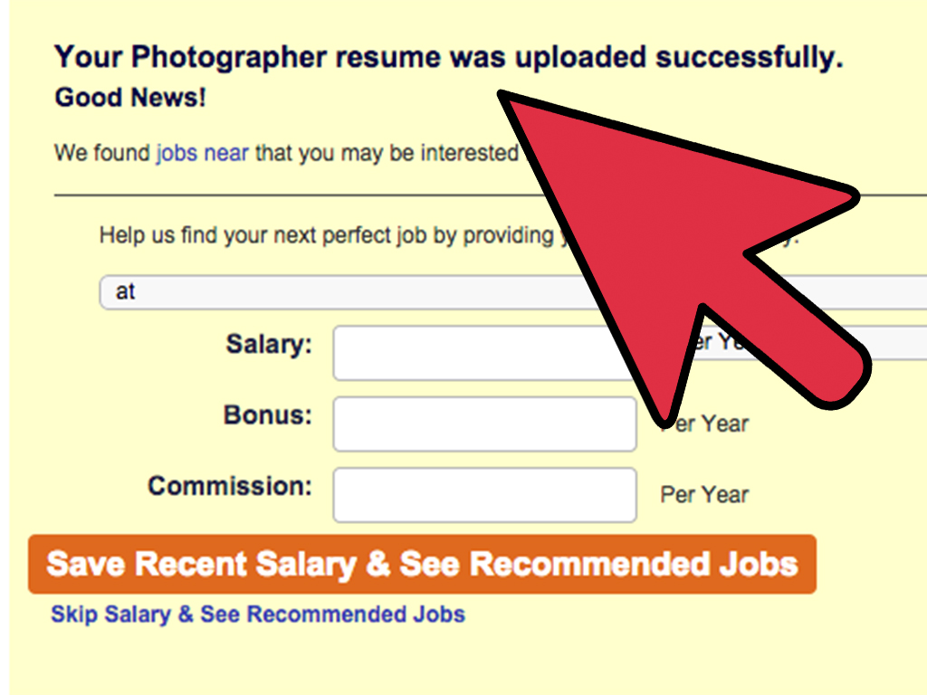 How Do You Upload Your Resume To Indeed How To Upload An Existing Resume On Careerbuilder 10 Steps