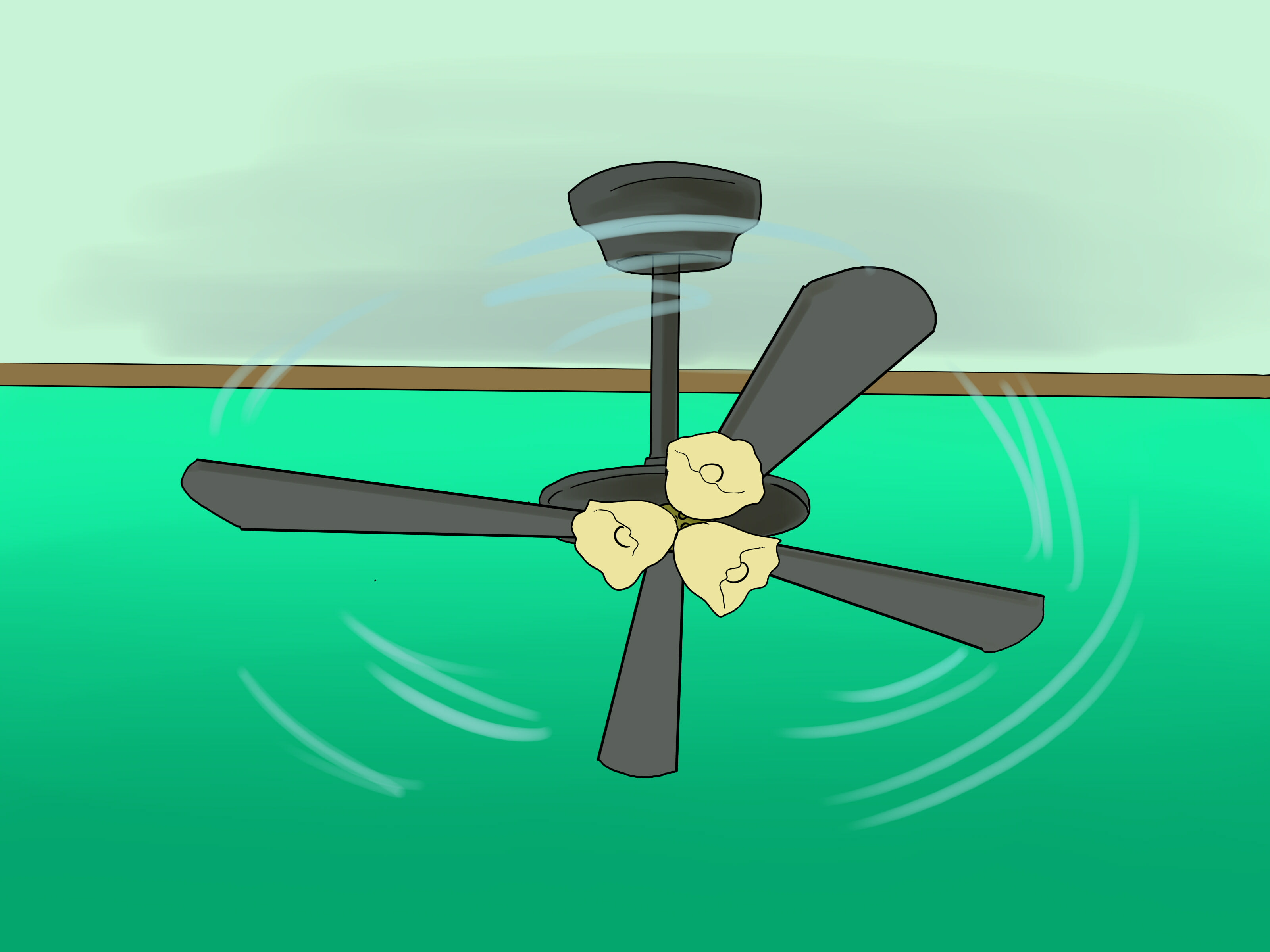 How To Install A Hugger Ceiling Fan (with Pictures) Wikihow